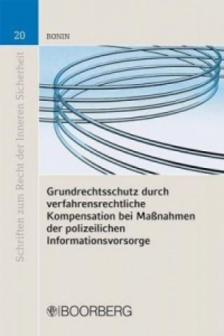 Grundrechtsschutz durch verfahrensrechtliche Kompensation bei Maßnahmen der polizeilichen Informationsvorsorge