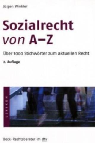 Sozialrecht von A-Z
