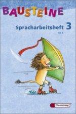 Spracharbeitsheft 3. Klasse, Teil A/B, 2 Bde
