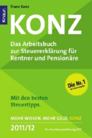 Konz, Das zur Steuererklärung für Rentner und Pensionäre 2011/12