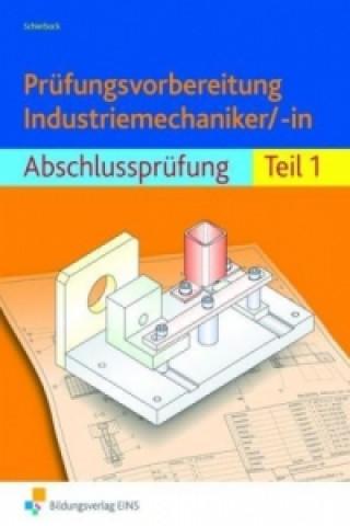 Prüfungsvorbereitung Industriemechaniker/-in, Abschlussprüfung Lösungsheft u. Gesamtzeichnungen. Tl.1