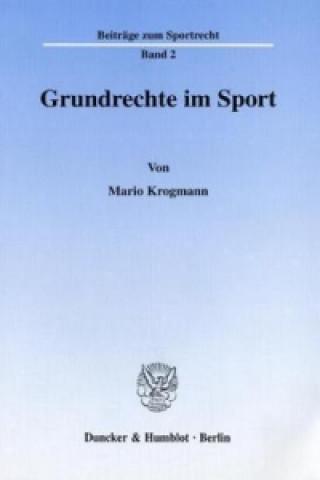 Grundrechte im Sport.