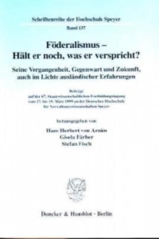 Föderalismus - Hält er noch, was er verspricht?
