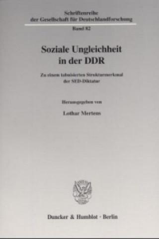 Soziale Ungleichheit in der DDR.