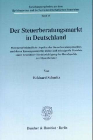 Der Steuerberatungsmarkt in Deutschland.