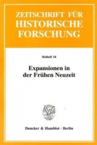 Expansionen in der Frühen Neuzeit.
