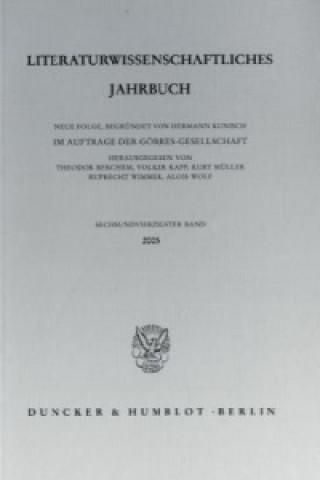 Literaturwissenschaftliches Jahrbuch.. Bd.46/2005