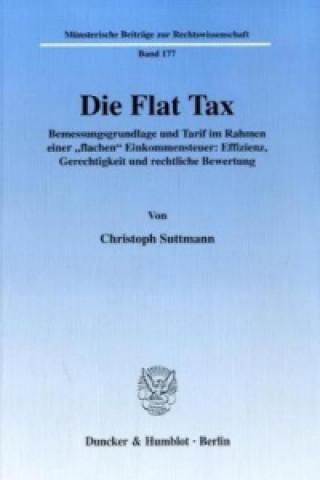 Die Flat Tax.