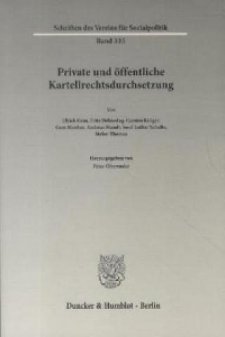 Private und öffentliche Kartellrechtsdurchsetzung.