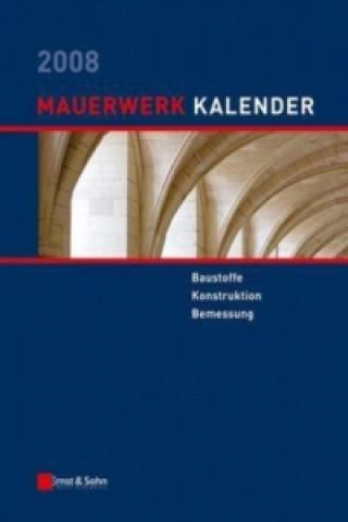 Mauerwerk-Kalender 2008