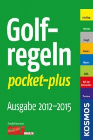 Golf-Regeln pocket-plus 2012 - 2015