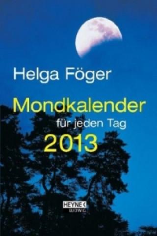 Mondkalender für jeden Tag, Taschenkalender 2014