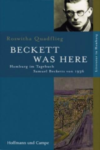 Beckett was here