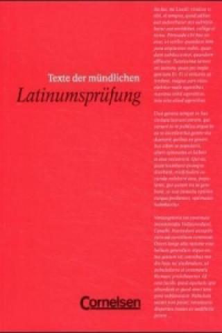 Texte der mündlichen Latinumsprüfung