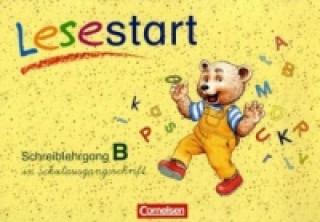 Schreiblehrgang B in Schulausgangsschrift