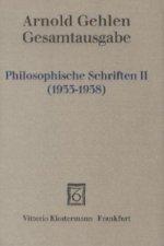 Philosophische Schriften II (1933-1938). Tl.2
