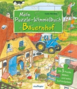Mein Puzzle-Wimmelbuch Bauernhof