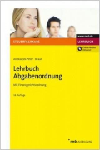 Lehrbuch Abgabenordnung