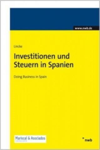 Investitionen und Steuern in Spanien
