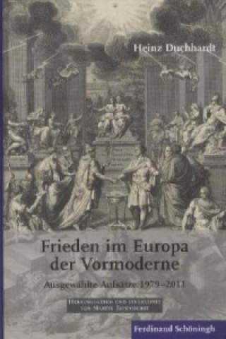 Frieden im Europa der Vormoderne