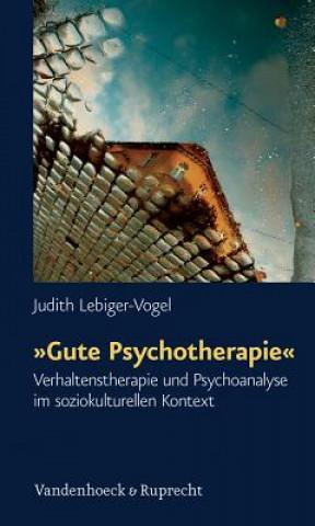 »Gute Psychotherapie«