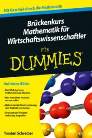 Bruckenkurs Mathematik fur Wirtschaftswissenschaftler fur Dummies