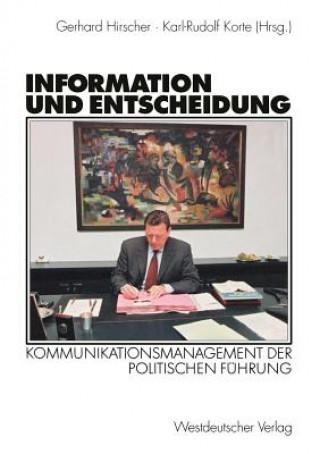Information Und Entscheidung