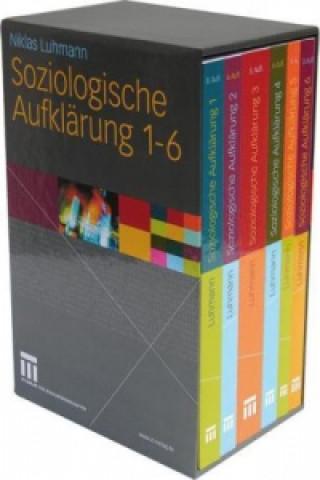 Soziologische Aufklärung 1-6, 6 Bde.