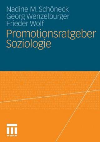 Promotionsratgeber Soziologie