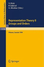 Representation Theory II. Proceedings of the Fourth International Conference on Representations of Algebras, held in Ottawa, Canada, August 16-25, 198