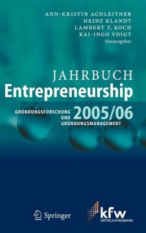 Jahrbuch Entrepreneurship 2005/06