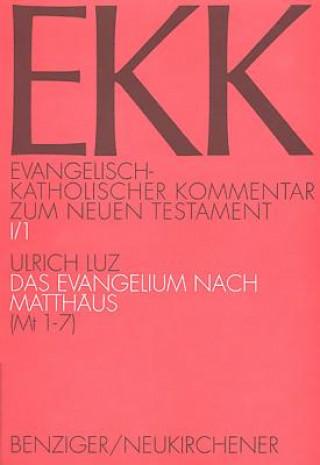 Das Evangelium nach Matthäus. Tl.1