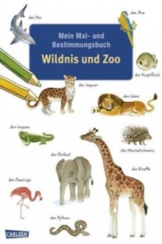 Mein Mal- und Bestimmungsbuch, Wildnis und Zoo