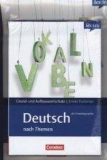 lex:tra Grund- und Aufbauwortschatz Deutsch als Fremdsprache nach Themen, Übungsbuch Grundwortschatz und Lernwörterbuch, 2 Bde.