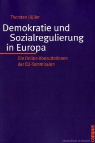 Demokratie und Sozialregulierung in Europa