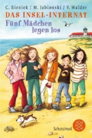 Das Insel-Internat, Fünf Mädchen legen los