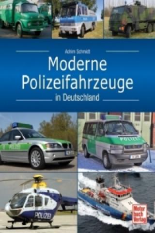 Moderne Polizeifahrzeuge in Deutschland
