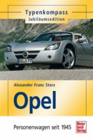 Opel, Personenwagen seit 1945