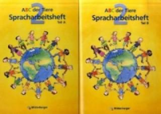 2. Schuljahr, Spracharbeitsheft, 2 Tle.. Tl.A/B