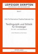 Textlinguistik Und Stilistik Fuer Einsteiger