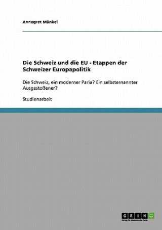 Schweiz und die EU - Etappen der Schweizer Europapolitik
