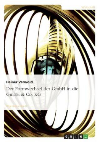 Formwechsel der GmbH in die GmbH & Co. KG