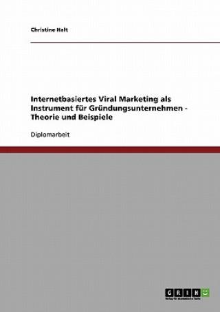Internetbasiertes Viral Marketing fur Grundungsunternehmen. Theorie und Beispiele