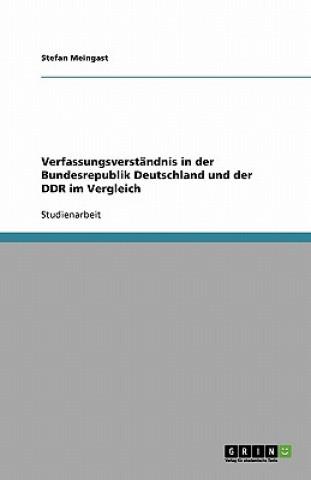 Verfassungsverständnis in der Bundesrepublik Deutschland und der DDR im Vergleich