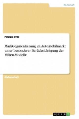 Milieumodelle. Marktsegmentierung im Automobilmarkt