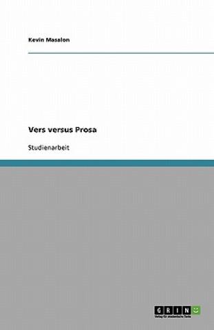 Vers versus Prosa