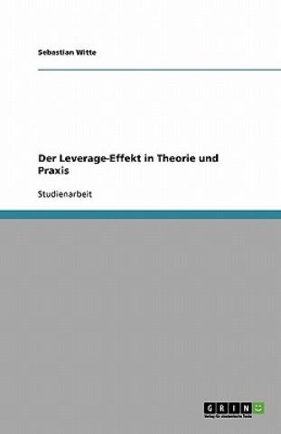 Der Leverage-Effekt in Theorie und Praxis