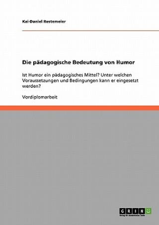 Die pädagogische Bedeutung von Humor