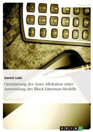 Optimierung Der Asset Allokation Unter Anwendung Des Black-Litterman-Modells