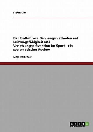 Der Einfluss von Dehnungsmethoden auf Leistungsfahigkeit und Verletzungspravention im Sport